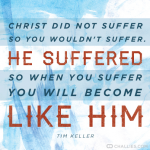 Suffering as Christ